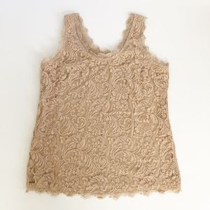 Adiva Lace Tank Sz Medium